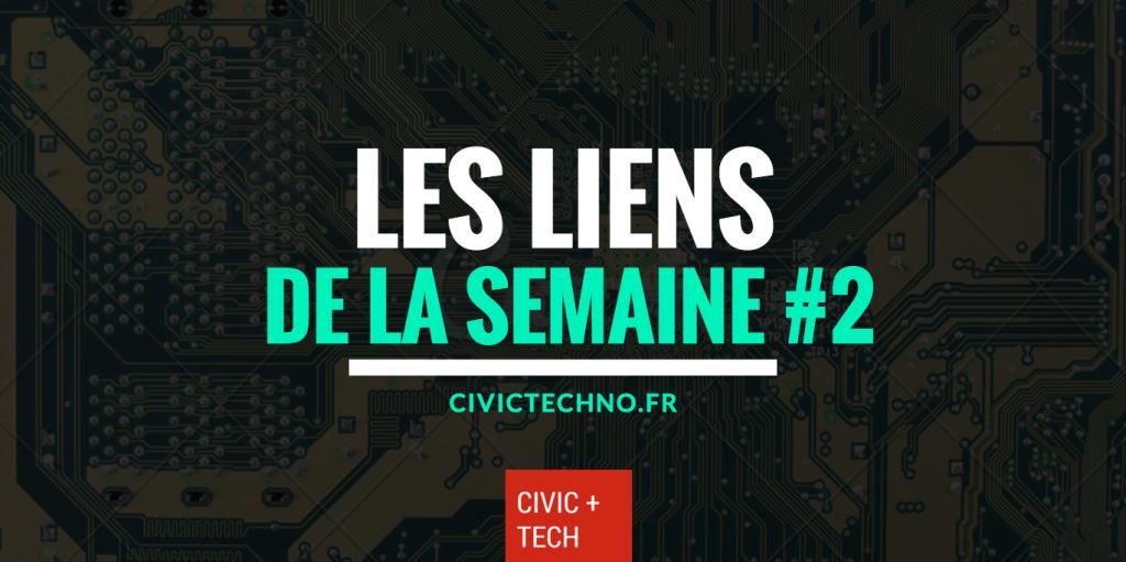 Liens Civic Tech de la semaine #2