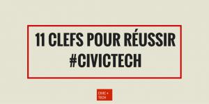 11 clefs pour réussir un projet Civic Tech