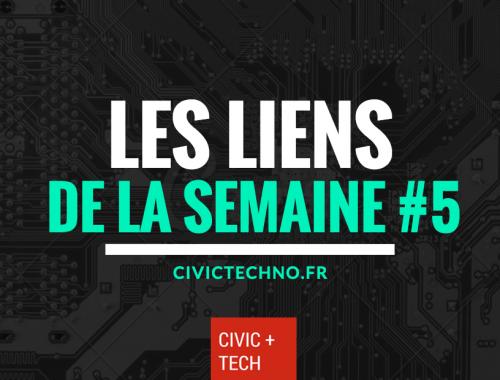 Liens Civic Tech de la semaine #5