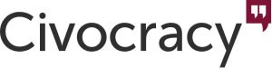 Logo Civocracy - engagement citoyen et civic tech