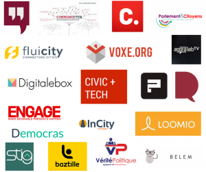 20 inscrits à la CivicThèque civictech civic tech