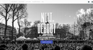 Le site Nuit Debout