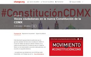 Mouvement · Voces ciudadanas en la nueva Constitución de la CDMX