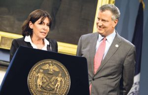 Anne-Hidalgo-et-Bill-de-Blasio-maire-de-New-York-en-mai-2014 Civic Tech Civictech
