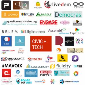 50 acteurs civic tech civictech annuaire civictheque