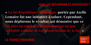 Mélenchon France Insoumise Civic Tech CivicTech 3