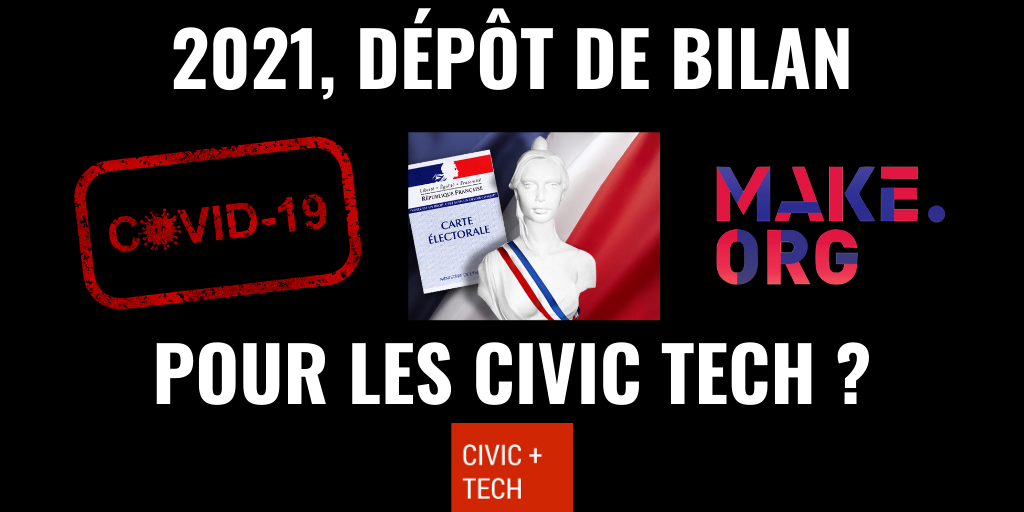 2021 : dépôt de bilan pour les CivicTech ?
