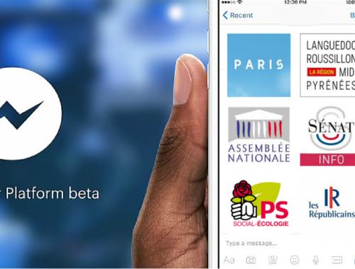 Bots de messagerie instantanées pour les villes, mairies, régions, départements, élus, partis politiques - Civic Tech CivicTech