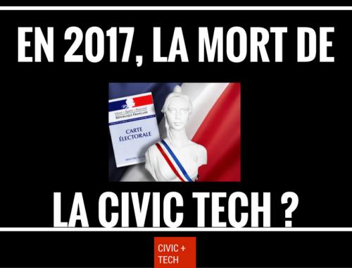 La Civic Tech survivra t'elle aux élections présidentielles de 2017